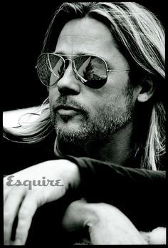 Brad Pitt Channels Badboy Jesus On The Cover Of Esquire