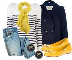 Blue and Yellow: school spirit