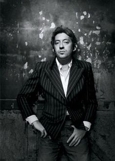 Serge Gainsbourg// French musician