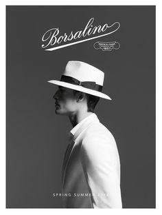 <3 Borsalino SS/16 campaign art directed and photographed byEmilio Tini