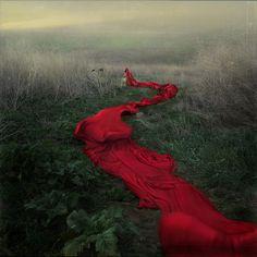 red. crimson.