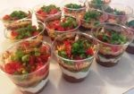 Personal 7-layer Dip Cups