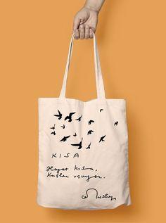 Hayat Kısa Kuşlar Uçuyor Bez Çanta Zet.com'da 29.90 TL