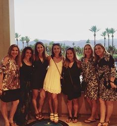 My Palm Springs Bachelorette was the perfect weekend with my sisters and best friends!  All of the heat and sun was the perfect reprieve from NYC weather (which hasn't exactly caught on that it's summer). Thank you to everyone trekked west to celebrate with me. 3 weeks till the big day!!