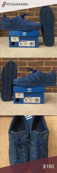 adidas superstar blu - fade shoesfactory