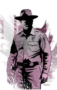 Jim Mehsling: Chief Hopper from Stranger Things for Sketch Dailies