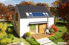 Projekty domów ARCHIPELAG - E12 ENERGO PLUS Shed, Outdoor Structures, House Design, Outdoor Decor, Home Decor, Decoration Home, Room Decor, Architecture Design, Home Interior Design