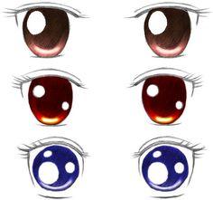 Dibujar ojos anime                                                                                                                                                     Más