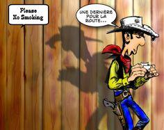 Pourquoi Lucky Luke a arrêté la cigarette...
