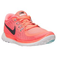 Womens Nike Free 5.0 - I dont have this color but these are my favorite workout shoes.