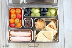 Kids Meals Healthy Lunch Ideas for Adults and Kids - No heating or microwave needed; everything can be served chilled or at room temperature. Use my printable recipe list to mix and match hundreds of lunch combinations. Kids Lunch For School, Healthy Lunches For Kids, Lunch Snacks, Healthy Foods To Eat, Lunch Recipes, Kids Meals, Healthy Snacks, Healthy Eating, Healthy Recipes