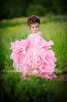 Shall We Dance So Pretty Princess Dress by sharpsissors on Etsy, $162.00