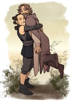 OP: I want Luke to be soft smol dork not bitter oldman pls and also have more time with Rey ;u; | Star Wars: The Force Awakens