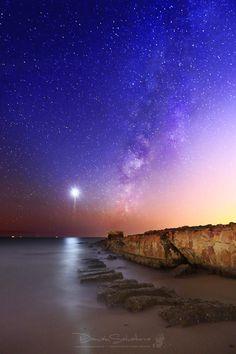 Milkyway and Venus - Milkyway and Venus, in the Barbate´s River. Spain.