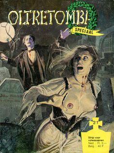 Cover for Oltretomba speciaal (De Vrijbuiter; De Schorpioen, 1973 series) #21