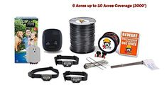 PetSafe Rechargeable Pro Grade In-Ground Dog Fence - Dog System, 1 Acre up to 2 Acres) -- Visit the image link more details. (This is an affiliate link and I receive a commission for the sales) Dog Training Tools, Cat Fence, Pet Dogs, Pets, Dog Items, Dog Accessories, Dog Care, Acre, Your Pet
