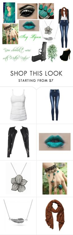 """""""Creepypasta OC: Ivy Lynn (Chelsea's Proxy)"""" by kitty-cat-queen ❤ liked on Polyvore featuring James Perse, Allegra, Deborah Lippmann, Effy Jewelry, Retrò, Bling Jewelry, Pieces and creepypasta"""