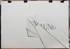 El turista tinta i aiguada sobre paper, 100x70cm