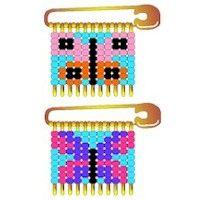Safety Pin Beaded Projects   Transmenu powered by JoomlArt.com - Mambo Joomla Professional ...