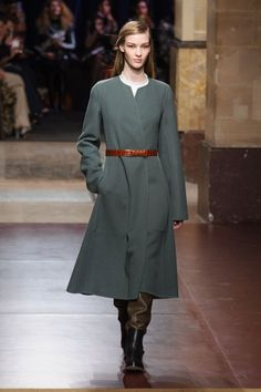 Hermes jesień-zima 2014/2015, Paris Fashion Week, fot. Imaxtree