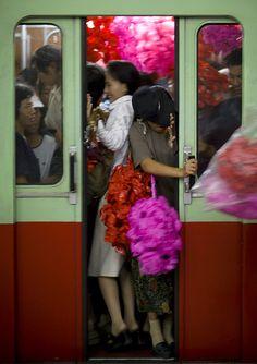 Subway Pyongyang North Korea. North Korea: the Bradt Guide; www.bradtguides.com