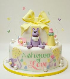 Baby Shower of Love Cake