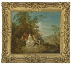 European Furniture, English Artists, Art Market, Art Forms, Oil On Canvas, Paris, Studio, Illustration, Painting