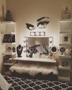 Decor penteadeiras improvisadas white makeup vanity white makeup these products look as good on instagram as they do on you solutioingenieria