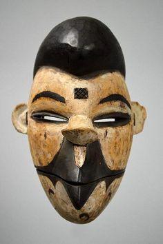 Ogoni Mask With Bird Beak