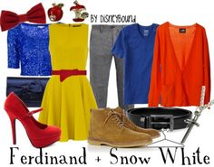 DisneyBound is meant to be inspiration for you to pull together your own outfits which work for your body and wallet whether from your closet or local mall. As to Disney artwork/properties: ©Disney Disney Bound Outfits, Disney Inspired Outfits, Themed Outfits, Disney Style, Modern Outfits, Cute Outfits, Snow White Outfits, Estilo Disney, Snow White Disney