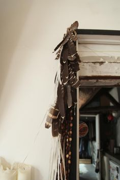 House Call with David Rager and Cheri Messerli in Paris, Remodelista - turkey feather garland