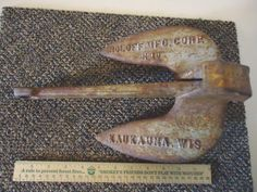"""Vintage Roloff MFG.Corp.N 10 Anchor """" AWESOME COLLECTABLE USEABLE ITEM """" #vintage #collectibles #sportinggoods #outdoors"""