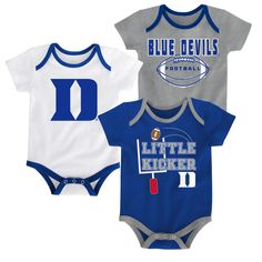 e1bcd9697 Duke Little Kicker Onesie 3-Pack Seahawks Fans, Seattle Seahawks, Kids Fans,