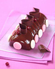Des recettes de Dessert de Noël au chocolat