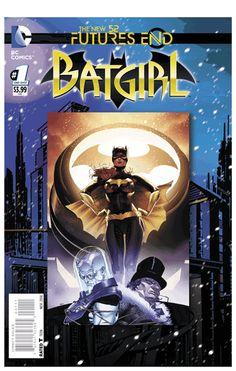 Batgirl #FuturesEnd #3DCover #New52