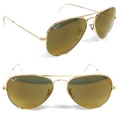 Color- Gold 100% U.V. Protection The shape that started it all. The Aviator is the brand staple originally designed for the U.S. military fighter pilots in 1937. Its timeless look with the unmistakable tear drop shaped lenses. This style allowed these sunglasses to quickly spread beyond their utility, becoming popular among celebrities, rock stars and citizens of the world alike. This is a iconic look that has endured for nearly a century...