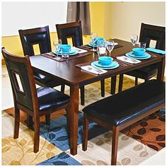 5 piece pub dining set at big lots table 36 x 48 x 30 for Dining room table 36 x 48