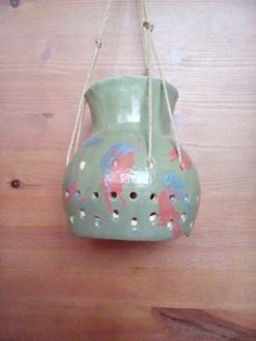 Hanging lamp by Muddymood on Etsy