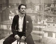Stefano Accorsi    Photo by Paolo Roversi    L'Uomo Vogue, marzo 2011