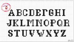 Monograma abc22 (Maiúsculas )