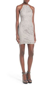Missguided Lace Body-Con Dress available at #Nordstrom