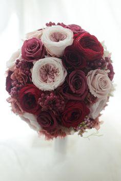 ラウンドブーケ ラグナスイート様へ 元花嫁様からご友人へのプレゼント : 一会 ウエディングの花