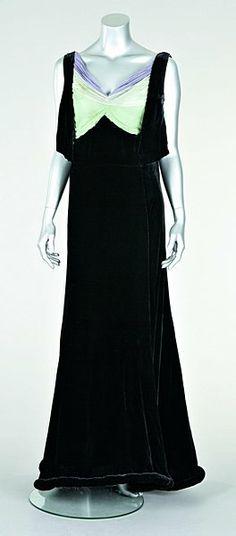 Callot Soeurs Soleil de Minuit evening gown, Winter 1938/39