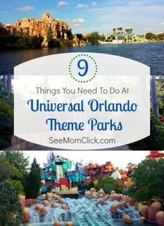 Universal Studios Orlando and Islands of Adventure are perfect family travel destinations. Here are my top 9 things you need to do at Universal Orlando!