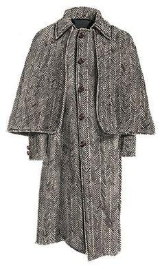 LC Herringbone Caped Coat available at JPeterman.com.