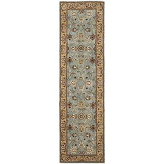 Safavieh Heritage Collection HG958A Handmade Traditional Oriental Blue and Gold Wool Runner 23 x 6 >>> Details can be found by clicking on the image. (This is an Amazon Affiliate link)