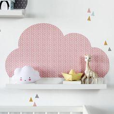 Lot de 3 stickers muraux convient aux rebords IKEA Ribba/Mosslanda photo Sticker pour cimaise: 55 cm Les adultes ainsi que les enfants apprécieront ces nuages. Tablettes de ces enfants ne sont pas seulement belles, mais peuvent aussi servir pour ranger les petits trésors. Votre enfant