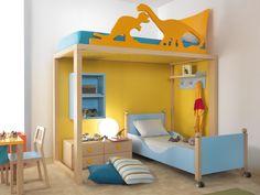 Bunk solid wood bed 9001 | Bunk bed - dearkids