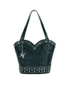 Women's Boot Scoot Boogie Zip-Top Tote