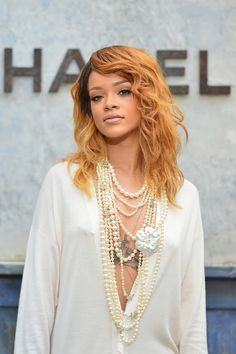 Rihanna In Chanel- Paris Fashion Week Haute-Couture Fall/Winter 2013-2014 | The Non-Blonde